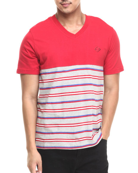 Ur-ID 220727 Enyce - Men Red Leonard T-Shirt