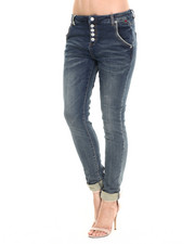 Boyfriend Fit - Premium Stretch Boyfriend Skinny Jean