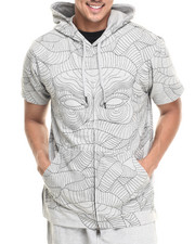 Hoodies - Vato Pullover Short-Sleeve Hoodie