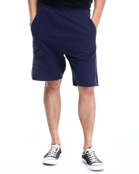 Ur-ID 220773 Hustle Gang - Men Navy Tonal Chief Shorts