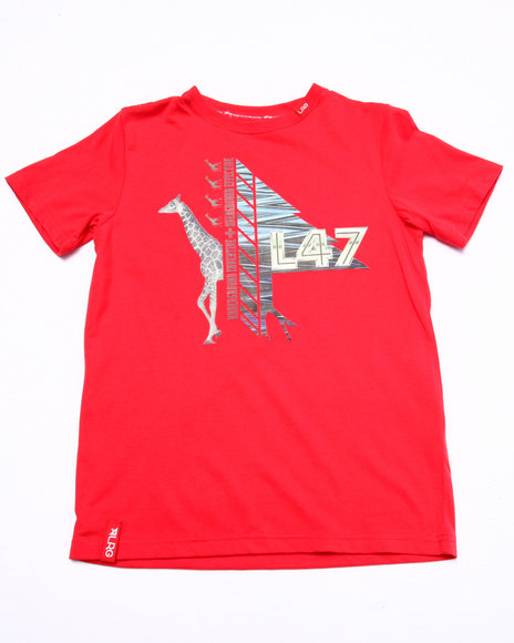 Lrg - Boys Red Beast Out Tee (8-20) - $9.99