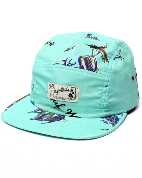 Huf Men Makapuu Volley 5-Panel Cap Green