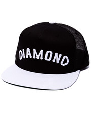 Hats - Diamond Arch Snapback Cap
