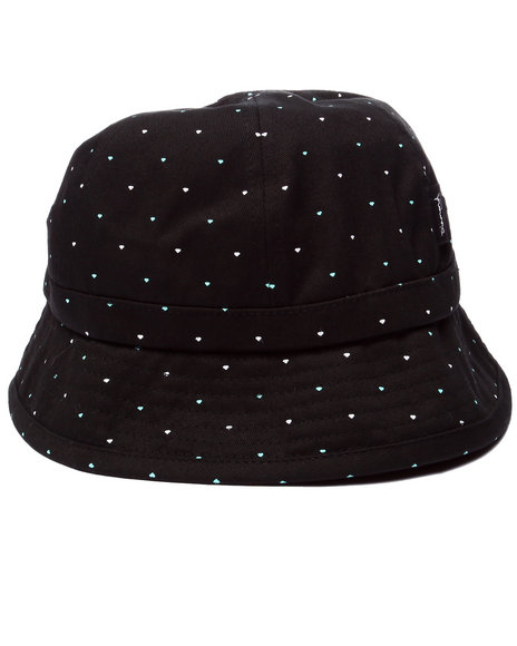 Diamond Supply Co - Men Black Micro Diamond Bucket Hat
