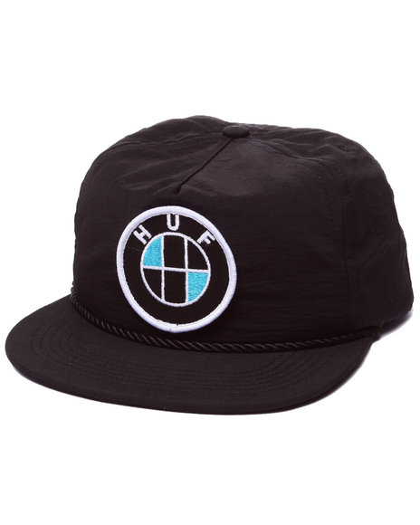 Huf Men Bavaria Snapback Cap Black