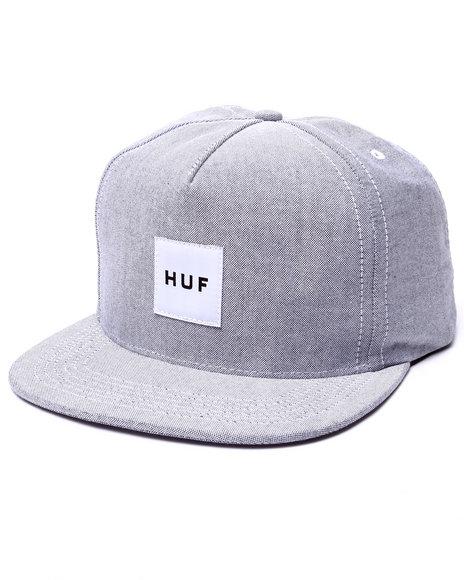 Ur-ID 223426 HUF - Men Black Oxford Box Logo Snapback Cap