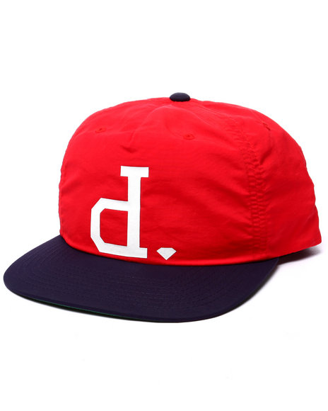 Ur-ID 223435 Diamond Supply Co - Men Red Un Polo Snapback Cap