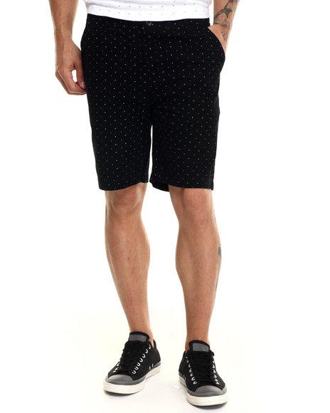 Ur-ID 220861 Diamond Supply Co - Men Black Micro Diamond Chino Shorts