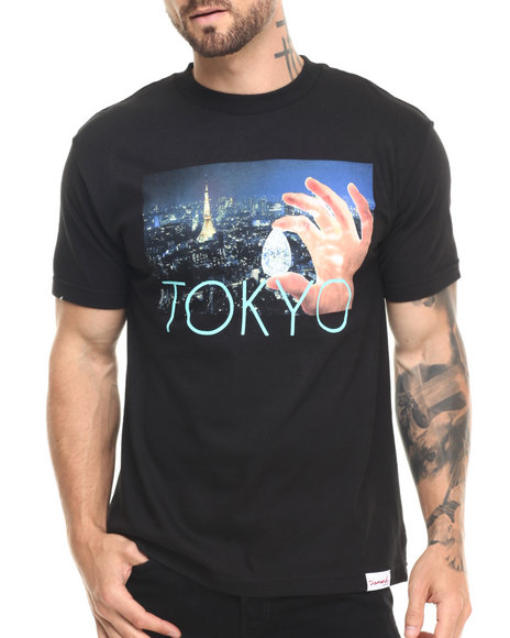 Diamond Supply Co - Men Animal Print Tokyo Life Tee