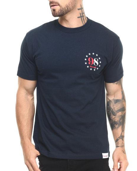 Ur-ID 220874 Diamond Supply Co - Men Navy,Navy Liberty Tee