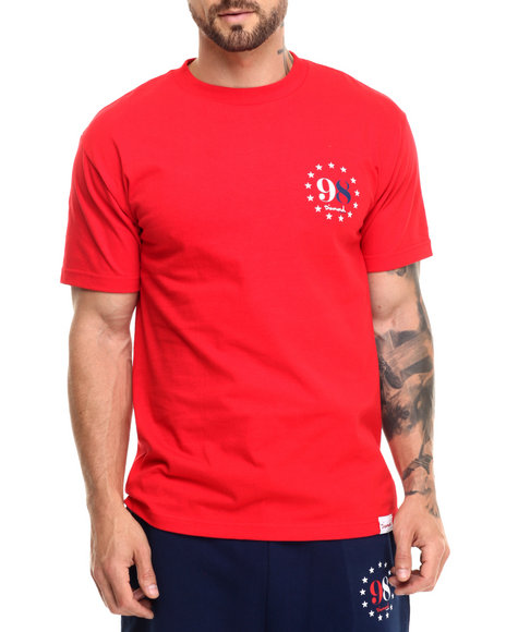 Diamond Supply Co Men Liberty Tee Red Large