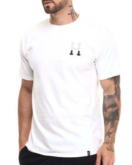 Huf Men Dipped Classic H Tee White X-Large