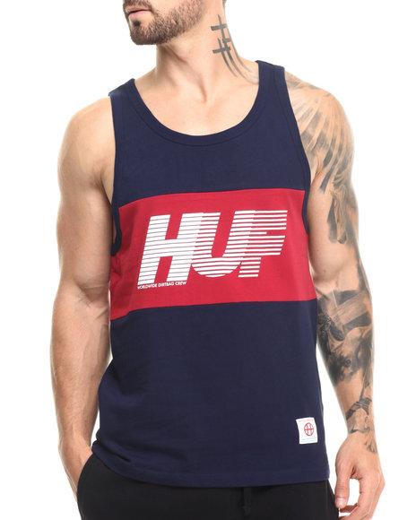 Huf - Men Navy Huf 10K Tanktop Jersey