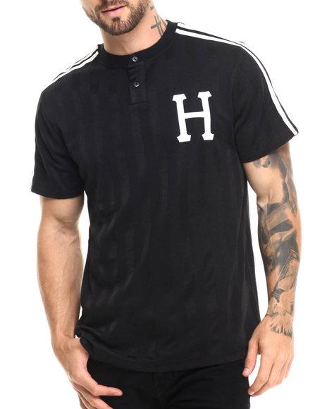 Ur-ID 220868 HUF - Men Black Huf Classic H Soccer Jersey