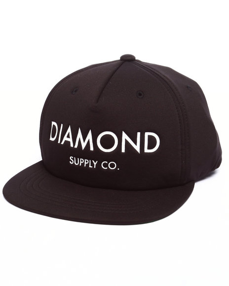 Diamond Supply Co Men Diamond Classic Snapback Cap Black - $40.00