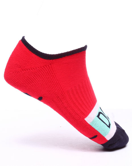 Diamond Supply Co Men Dl98 Low Socks Red - $10.00