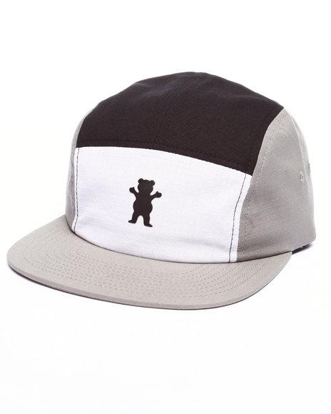 Ur-ID 223439 Grizzly Griptape - Men Grey Kodiak Camp Hat