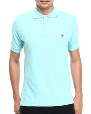 Men - Stripe Collar Polo