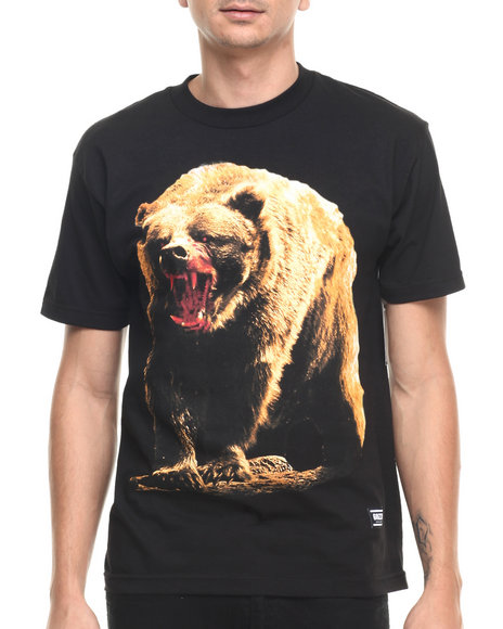 Ur-ID 220950 Grizzly Griptape - Men Black Out For Blood Tee