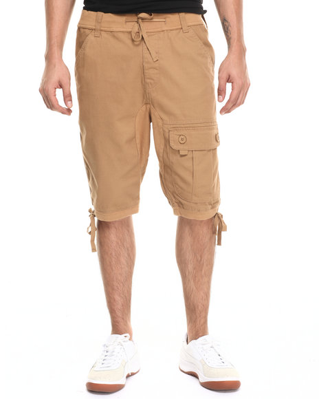 Ur-ID 220909 Waimea - Men Tan Wilderness Twill Short