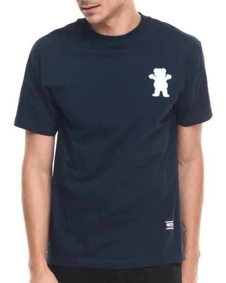 Ur-ID 220915 Grizzly Griptape - Men Navy Sports Academy Tee