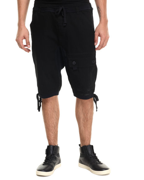 Ur-ID 220958 Waimea - Men Black Wilderness Twill Short