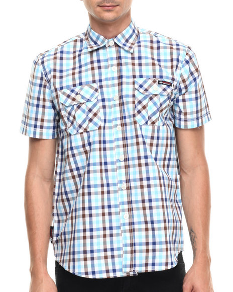 Ur-ID 220967 Enyce - Men Brown Sanches S/S Button-Down