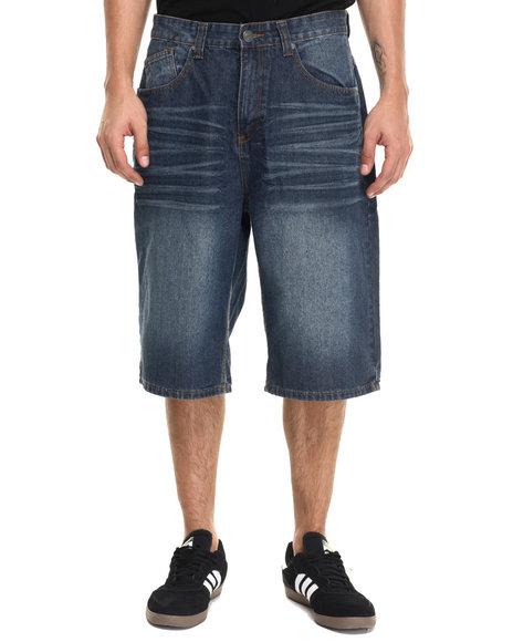 Ur-ID 220943 Enyce - Men Medium Wash Cali Fashion Shorts