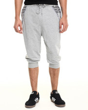 Men - Side Zip Banadana Long Jogger Short