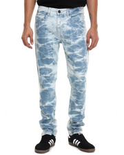 Men - White Light Denim Jeans