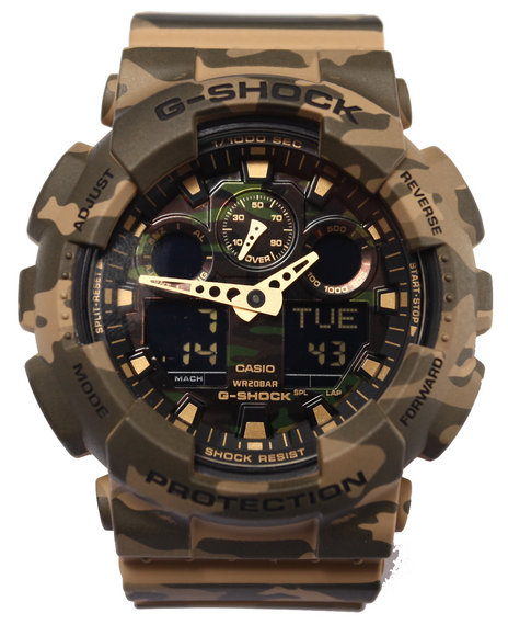 G-Shock By Casio Men Camoflauge Watch Camo
