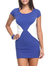 Fashion Lab - Color Block Sheath Dress
