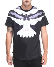 Hudson NYC - B / W Doves S/S Tee