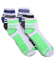 Accessories - Quarter 1/2 Cushion 6Pk Socks