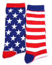 Accessories - Americana 2Pk Crew Socks