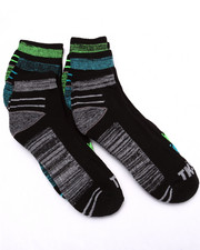 Men - Quarter 1/2 Cushion 6Pk Socks