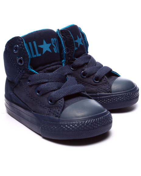 Converse - Boys Navy Chuck Taylor All Star High Street (5-10)