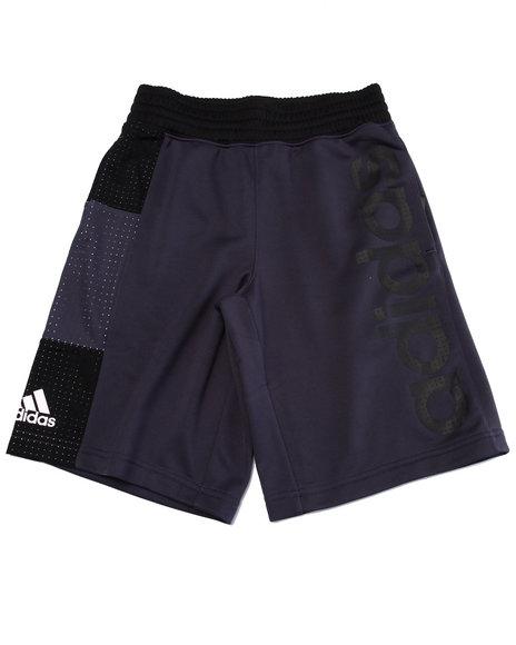 Adidas Boys Adidas Basketball Crazy 8 Shorts (820) Grey Large