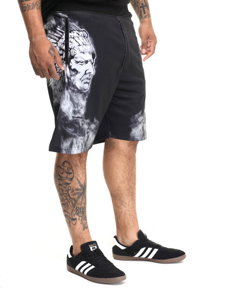 Hustle Gang Black Shorts