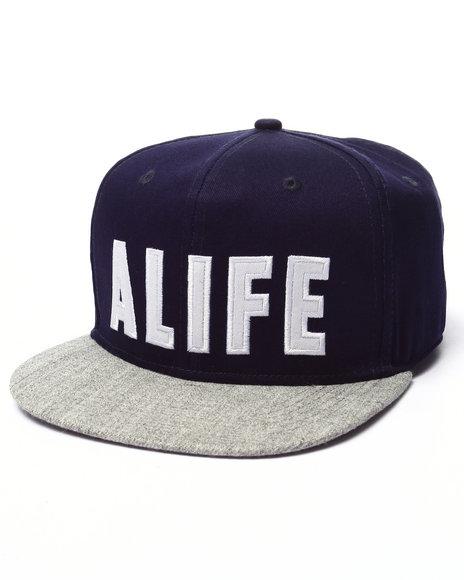 Ur-ID 223538 Alife - Men Grey Varsity Snapback