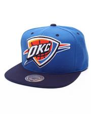 Mitchell & Ness - Oklahoma City Thunder Reflective XL Logo Snapback Cap