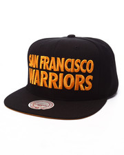 Mitchell & Ness - San Francisco Warriors HWC Title Snapback Cap