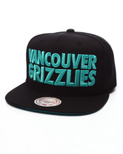 Mitchell & Ness - Vancouver Grizzlies HWC Title Snapback Cap
