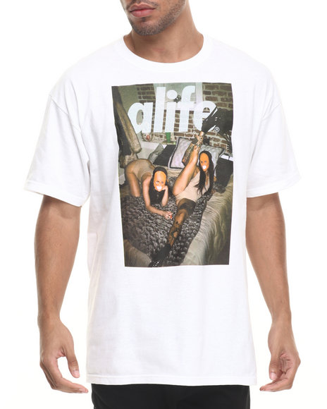Alife - Men White Sleepover T-Shirt