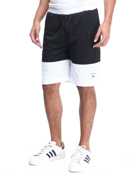 Diamond Supply Co - Men Black Diamond Arch Basketball Shorts