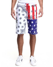 Shorts - Land of the Free Drawstring Shorts