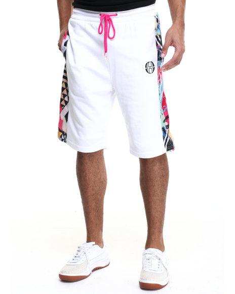 Ur-ID 223609 Hudson NYC - Men White Retro Boomin Drawstring Shorts