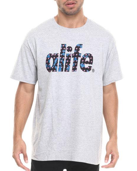 Ur-ID 223612 Alife - Men Grey Comrade T-Shirt