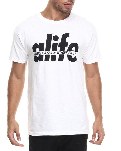 Ur-ID 223613 Alife - Men White Split T-Shirt