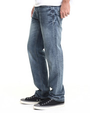 Basic Essentials - Hot Rod Straight Fit Jean